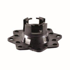 """Armatūros fiksatorius - """"grybas""""  15 - 20 mm, d < 16 mm, 50 vnt. Skirtas minkštam pagrindui (smėlis, putų pol.)"""