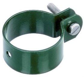 Apkaba tvoros tinklo HERVIN GARDEN stulpui skersmuo 38 mm, Zn, žalia