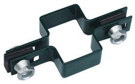 Apkaba tvoros segmentui HERVIN GARDEN  40 x 60 mm, su tarpinėmis, centrinė, žalia, Zn.