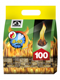 Ugnies įdegtukai HANSA 100 vnt.