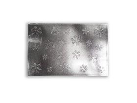 Padėkliukas SNOW, 30x45cm, sidabrinis, ST