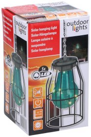 Terasos šviestuvas su saulės elementais, 50x11x11cm