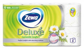 Tualetinis popierius ZEWA Deluxe Camomile Comfort