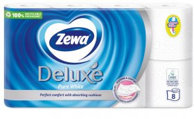 Tualetinis popierius ZEWA Pure white, 3-jų sluoksnių, 8 vnt.