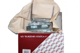 Įleidžiama spyna  RITA 404Z-35801/C Su rankena, chromuota, be cilindrinio mechanizmo, 55 mm, 31013