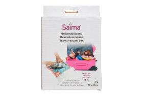 Vakuuminiai maišeliai rūbams SAIMA, 40 x 60 cm., 2 vnt.