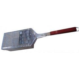 Kepsninės grotelės Easy Grill su medine rankena, 53cm