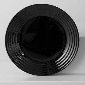 Lėkštė sriubai HARENA BLACK, 23,5cm