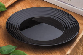 Lėkštė HARENA BLACK, 25cm.
