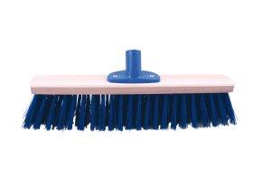 Šepetys kiemui be koto PAINTER, plast. jungtis, mėlynas, 40cm sk.26, SZC0434