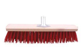 Šepetys kiemui be koto PAINTER, metal. jungtis, raudonas, 40cm sk.22, SZC0501