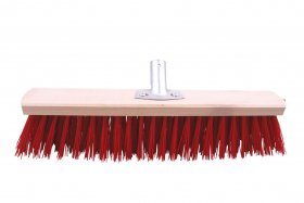 Šepetys kiemui be koto PAINTER, metal. jungtis, raudonas, 50cm sk.22, SZC0502