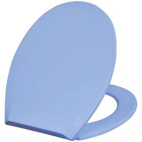 Klozeto dangtis DUSCHY Soft Eco, mėlynas, ES
