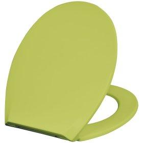 Klozeto dangtis DUSCHY Soft Eco, žalias, ES