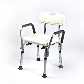 Dušo kėdė KID-MAN, su nuimamais porankiais