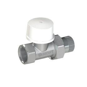 Termostatinis ventilis radiatoriui ARCO TIBET, tiesus