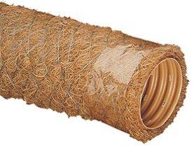PVC drenažo vamzdis WAVIN d113/126 su kokoso plaušo filtru