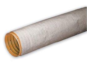 PVC drenažo vamzdis WAVIN d80/92 su geotekstilės filtru