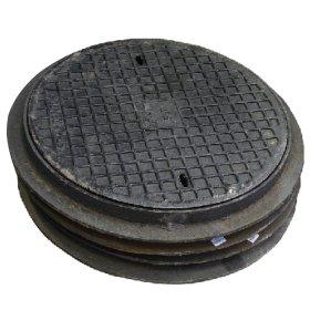 Kanalizacijos dangtis  AO-600, d680/640 ketaus, apkrova - 5 t., svoris 38 kg