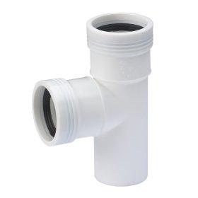 Trišakis  WAVIN OPTIMA PVC d50 x 50/88, baltas 206021531