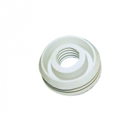 """Perėjimas REMER Perėjimas, guminis, """"Ketus-plastikas"""", baltas, d76-40"""