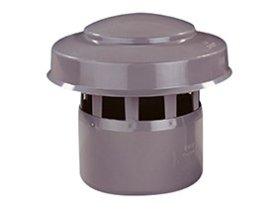 Ventiliacijos stogelis WAVIN d110, pilkas 206702210
