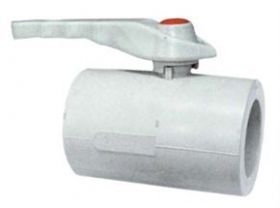 Ventilis rutulinis, lituojamas FPLAST d20, PPR 84200