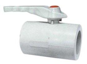 Ventilis rutulinis, lituojamas FPLAST d25, PPR 84201