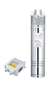 Panardinamas giluminis siurblys LEO 4DWPm750S, Kėlimo aukštis 58 m, našumas 45 l/min, galia 750 W