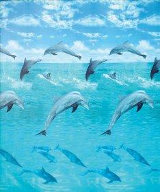 Vonios užuolaida DUSCHY OCEAN 622-17