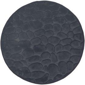 Vonios kilimėlis DUSCHY BELLARINA 767-26, D-60 cm, tamsiai pilkas, Estija