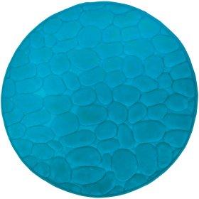 Vonios kilimėlis DUSCHY BELLARINA 767-32, D-60 cm, žydras, Estija