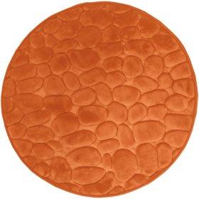 Vonios kilimėlis DUSCHY BELLARINA 767-46, D-60 cm, oranžinis, Estija