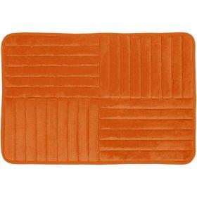 Vonios kilimėlis DUSCHY TOULON 768-46, 80 x 50 cm, oranžinis, Estija