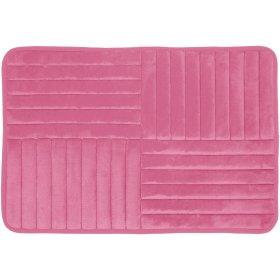 Vonios kilimėlis DUSCHY TOULON 768-86, 80 x 50 cm, rožinis, Estija
