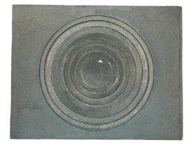 Viryklė, ketaus 400 x 400  1 kaitvietė