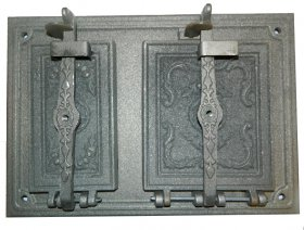 Krosnies durelės 480 x 330 RETRO hermetiškos, ketaus