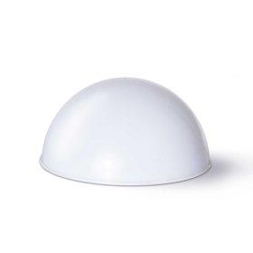 Lauko šviestuvas SUNLUX SA253, su saulės elementais/baterija, plastikas, pastatomas, pusė burbulo, 19,5 x 10 cm, A170620077, ST