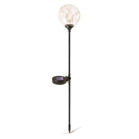 Lauko šviestuvas SUNLUX SA259, su saulės elementais/baterija, metalas, plastikas, stiklas, įsmeigiamas, 10 x 65 cm, A170620078, ST