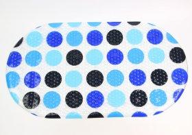 Vonios kilimėlis 69x36cm su siurbtukais, PVC, įv.dizainų