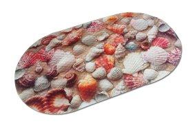 Vonios kilimėlis 69x36cm su siurbtukais, PVC, su siurbtukais, įv.dizainų