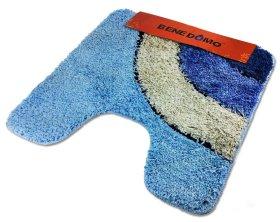 Tualeto kilimėlis 55x55cm, įv.dizainų, mikropluoštas, neslystanti apačia