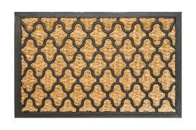 Kilimėlis TARTAN, 40 x 60 cm, 2 dizainai, 100% kokoso plaušas, guminis pagrindas, 872-000