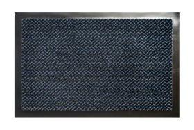 Kilimėlis EQUATEUR DOTS, 60 x 80 cm, Black-Brown/Blue, 100% PP, PVC pagrindas, 832-000