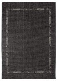 Kilimas MONTANA, 133 x 190 cm, 100 % Polipropileno, juodos spalvos, ST