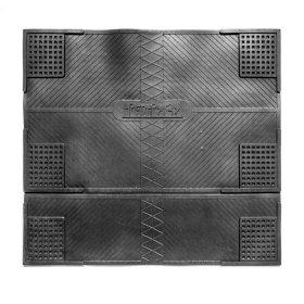 Kilimėlis RICCO ANTI VIBRATION, 62 x 55 cm, juodas, 100% guma, 885-000