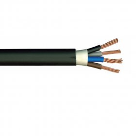 Jėgos kabelis LIETKABELIS 450/750V VVG (CYKY) 3*4,