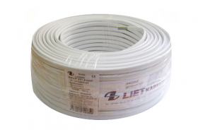 Instaliacinis kabelis LIETKABELIS YDY P 300/500V 3*1,0 (BVV-P) plokšč. monol.(rul 25m)