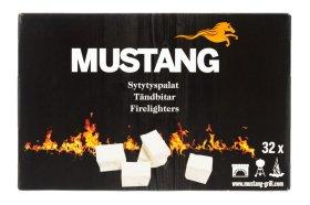 Ugnies įdegtukai Mustang 32 vnt, su parafinu