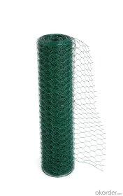 Tvoros tinklas HERVIN GARDEN Hexagonal, cinkuotas, dengtas PVC, žalias, akutė 15 x 15 mm., 1,2 x 20 m. (0,8 mm.)